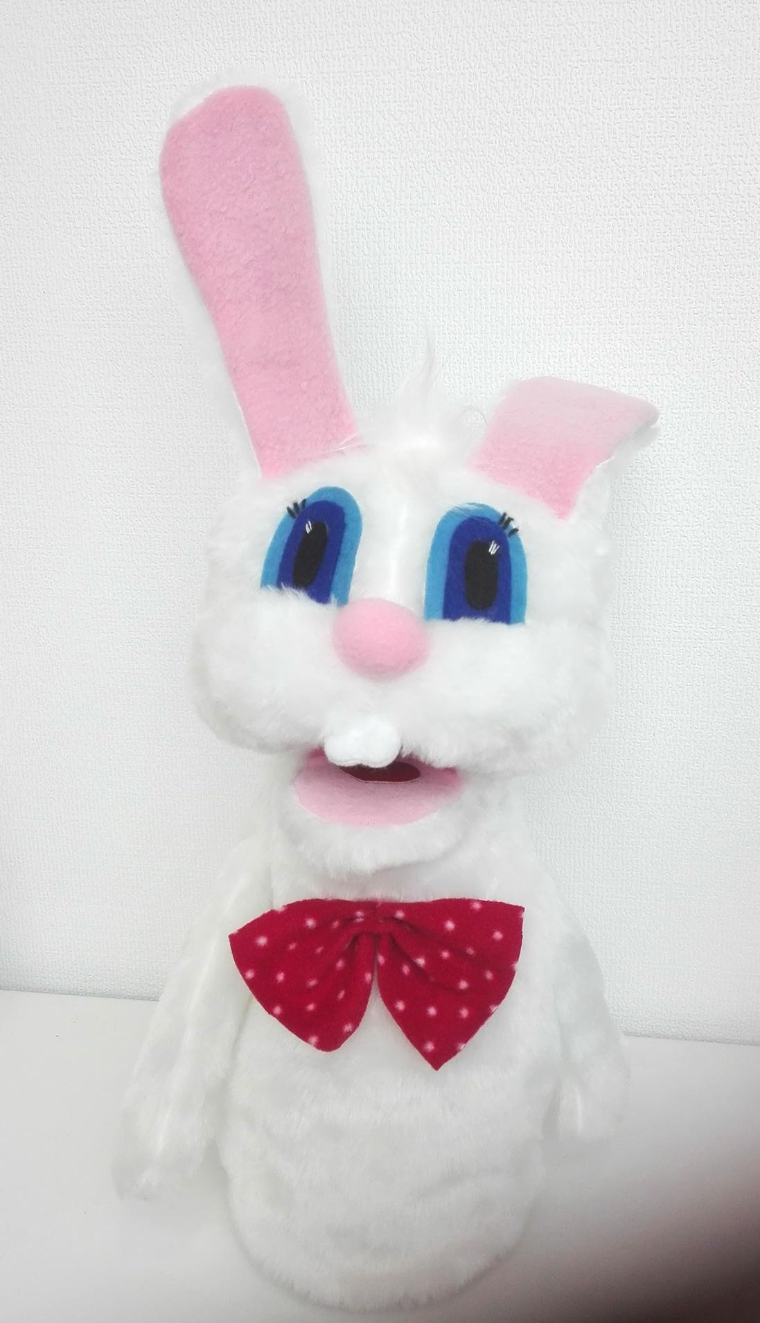 маппет заяц кукла с открывающимся ртом