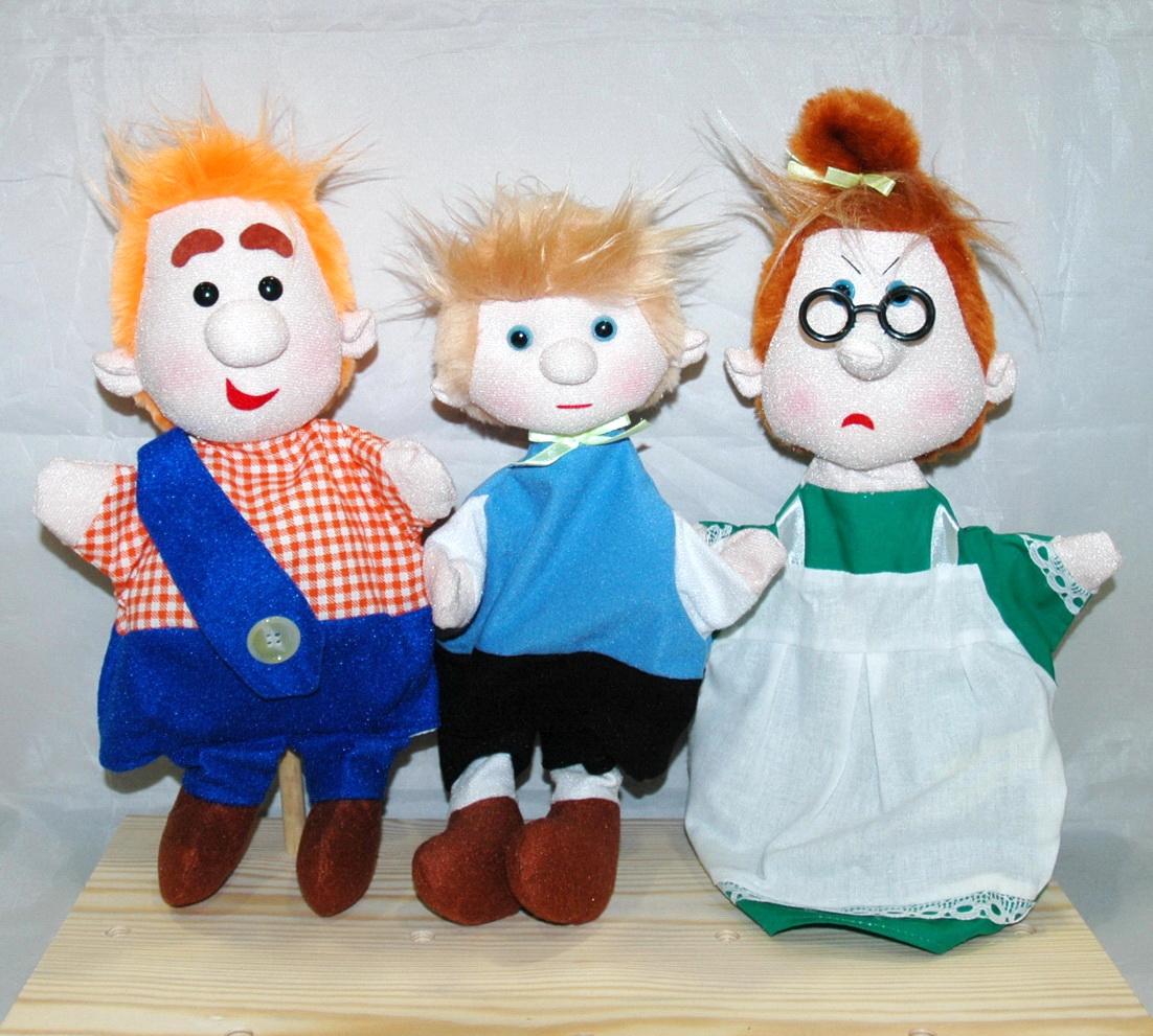 Карлсон набор кукол-перчаток