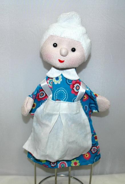 Бабушка кукла-перчатка