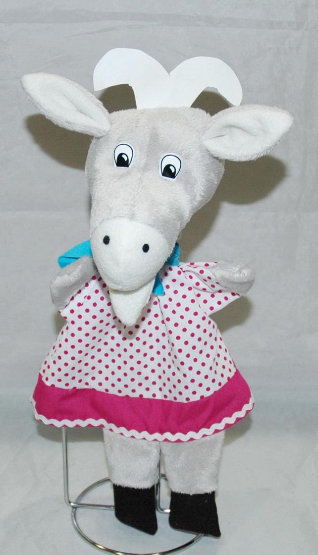 Кукла-перчатка Коза Дереза