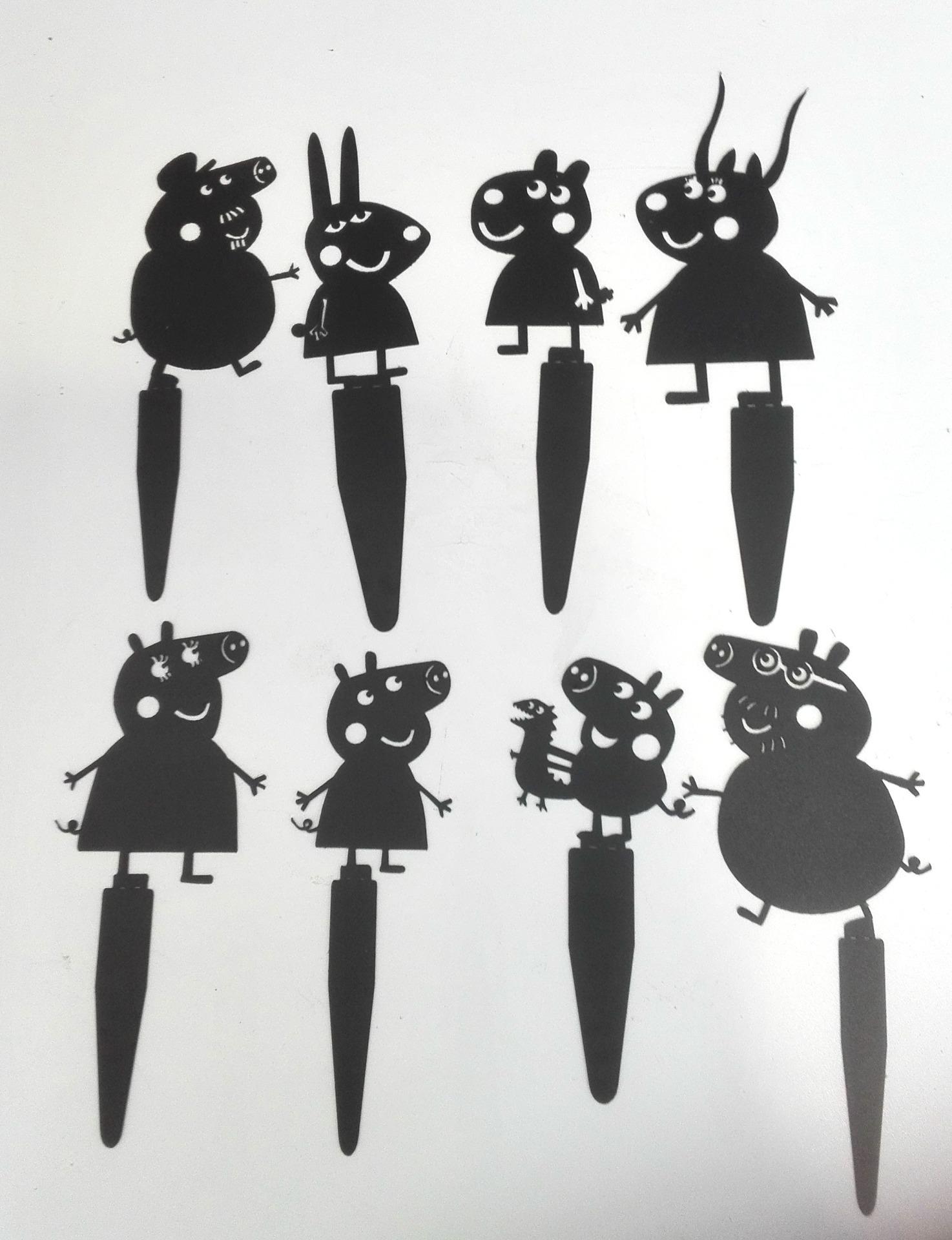 Свинка Пеппа набор для театра теней