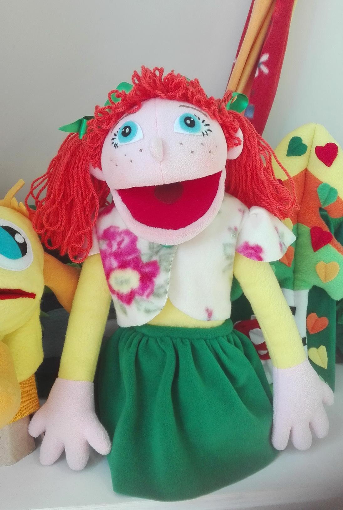 Куклы с открывающимися ртами своими руками