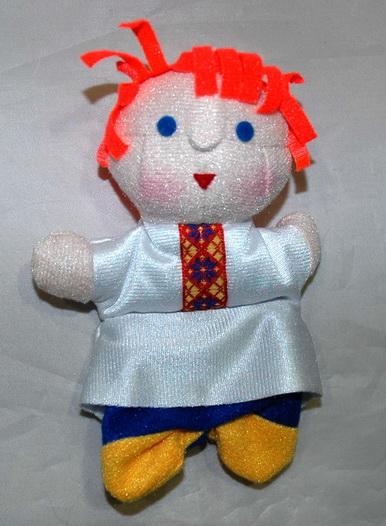 Шагающая кукла мальчик