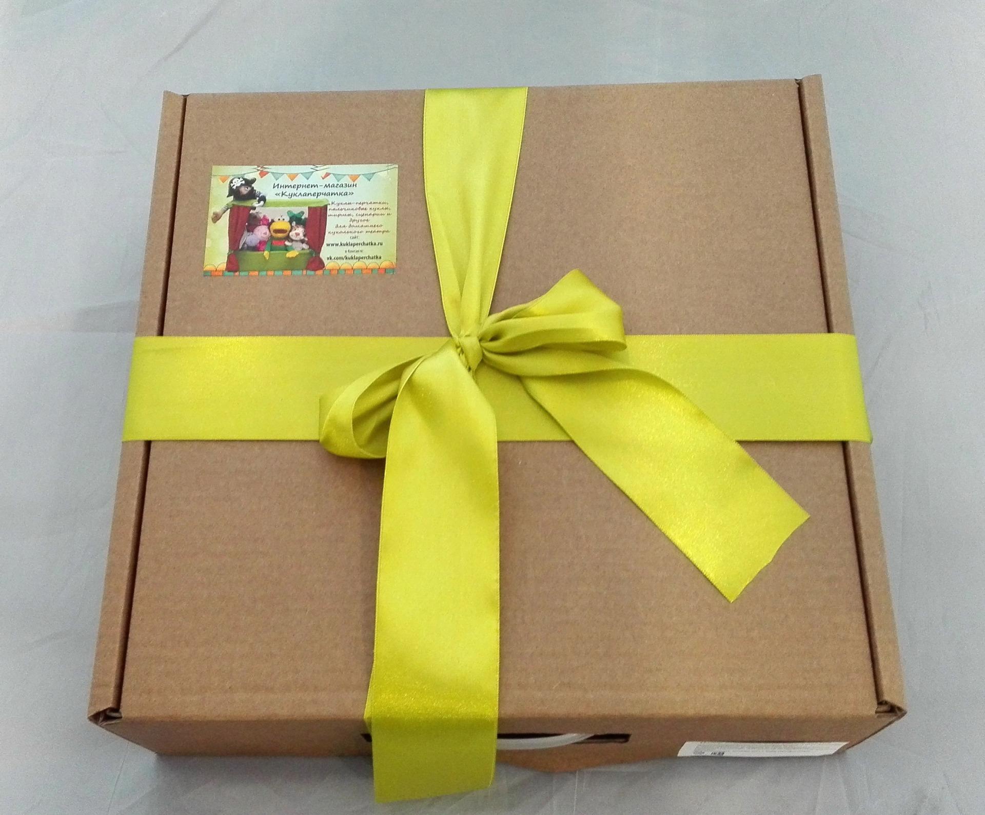 Коробка для кукол
