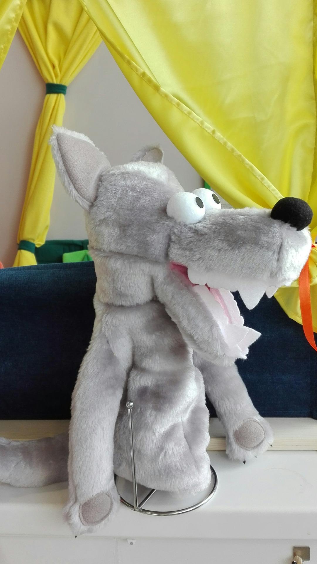 Маппет волк