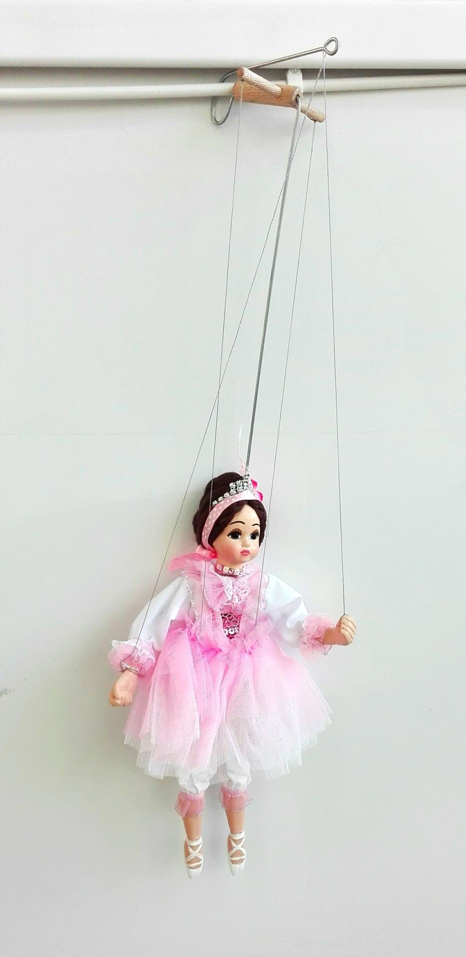Чешская марионетка ручной работы Балерина
