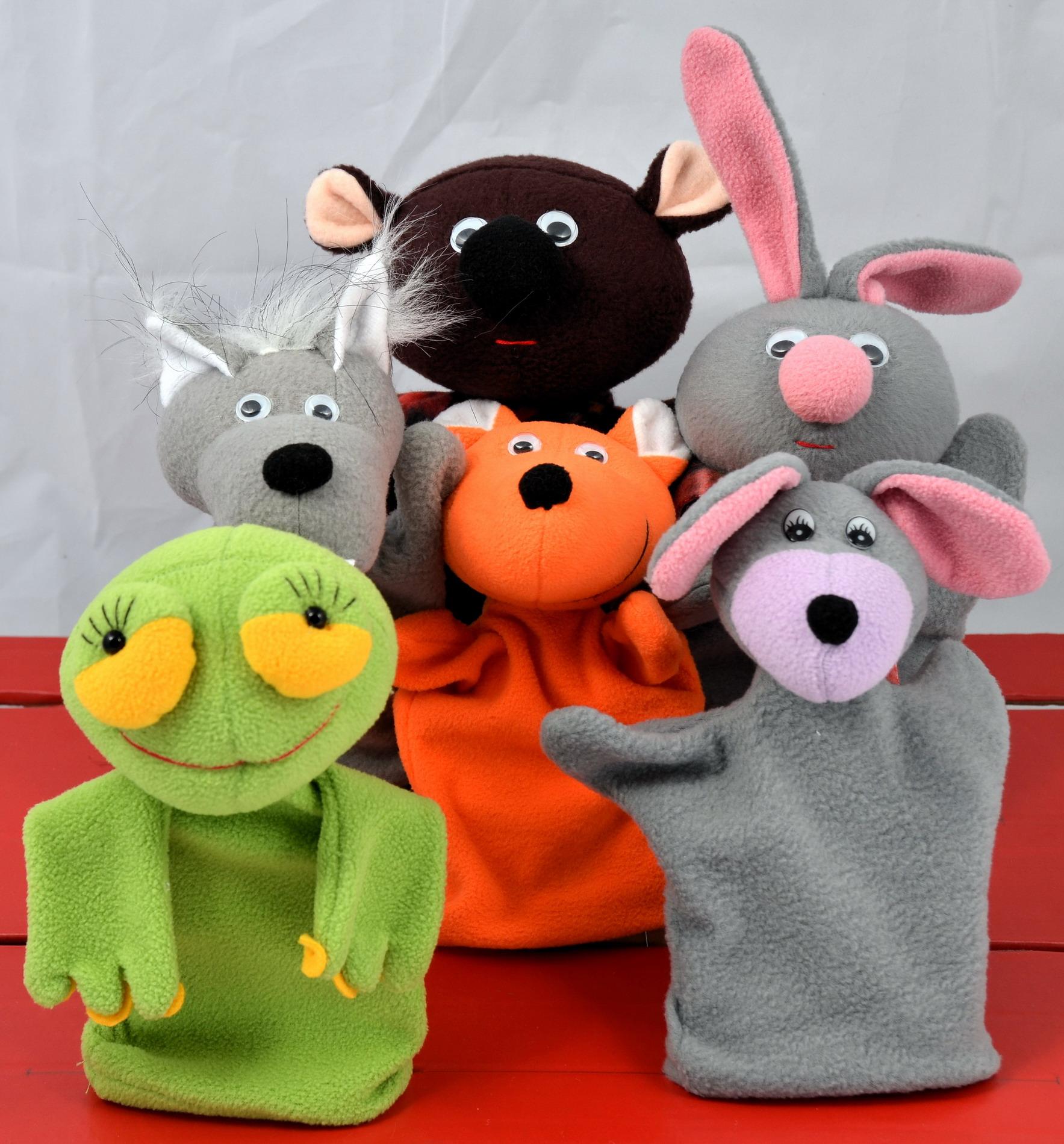 Набор кукол-перчаток Теремок