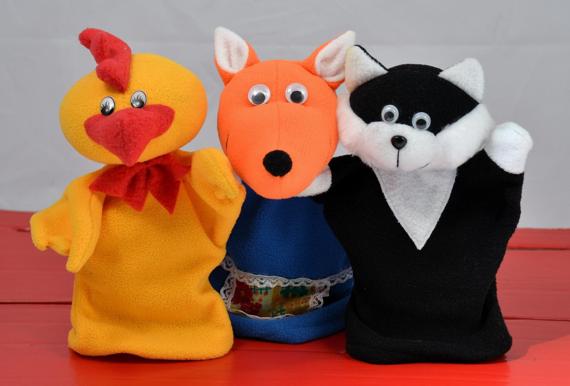 Кукольный театр Кот, лиса и петух