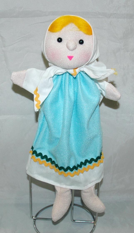 Машенька кукла-перчатка