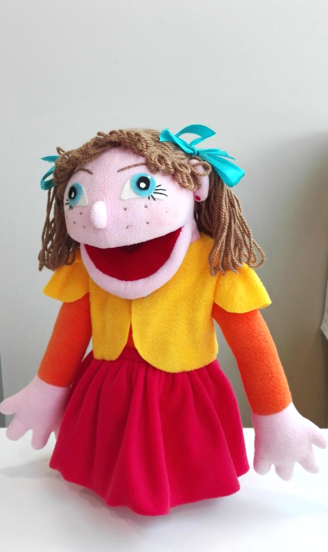 Кукла театральная Девочка