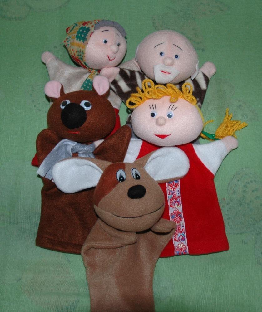 Кукла для театра своими руками 11