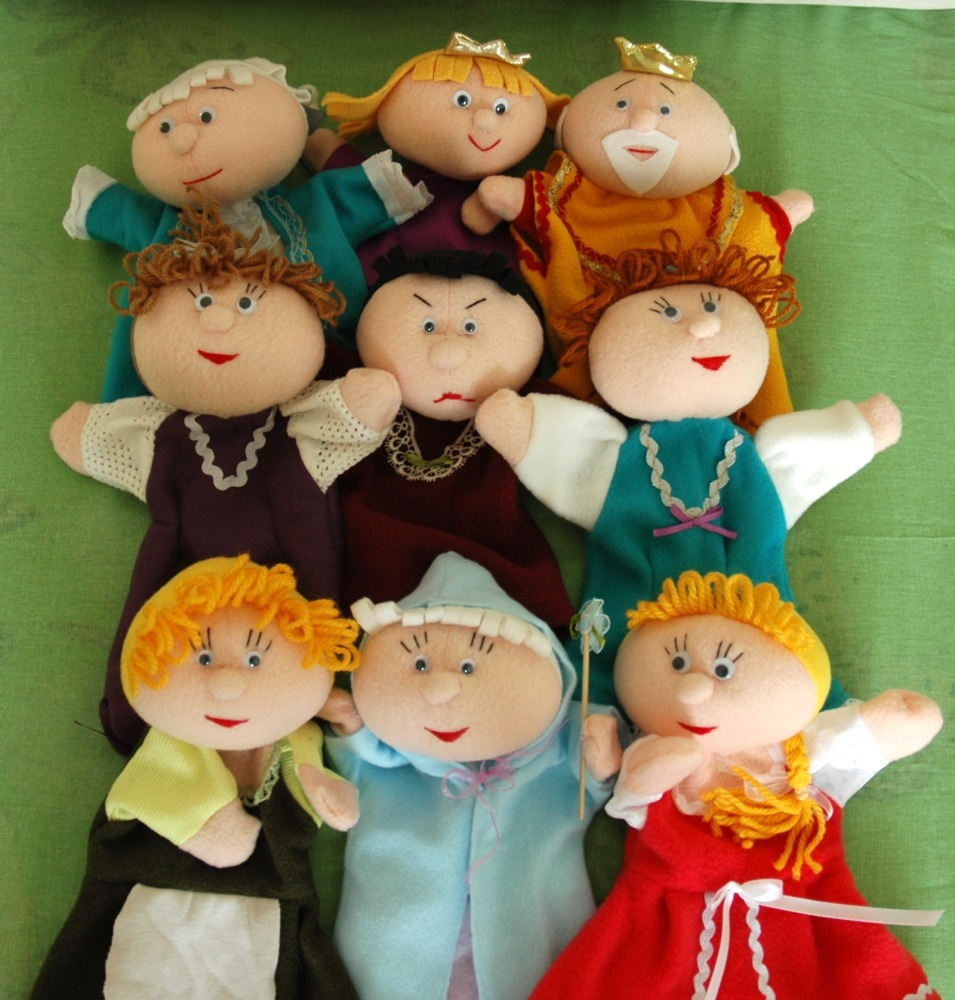 Набор кукол для домашнего кукольного театра