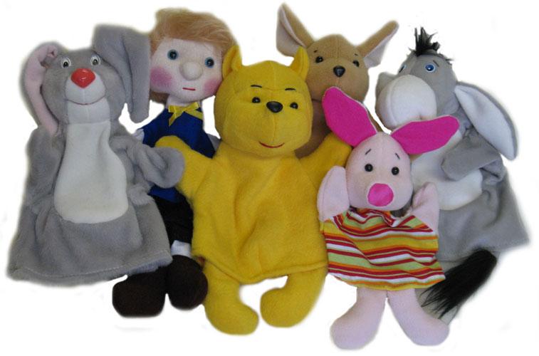 набор кукол Винни-пух