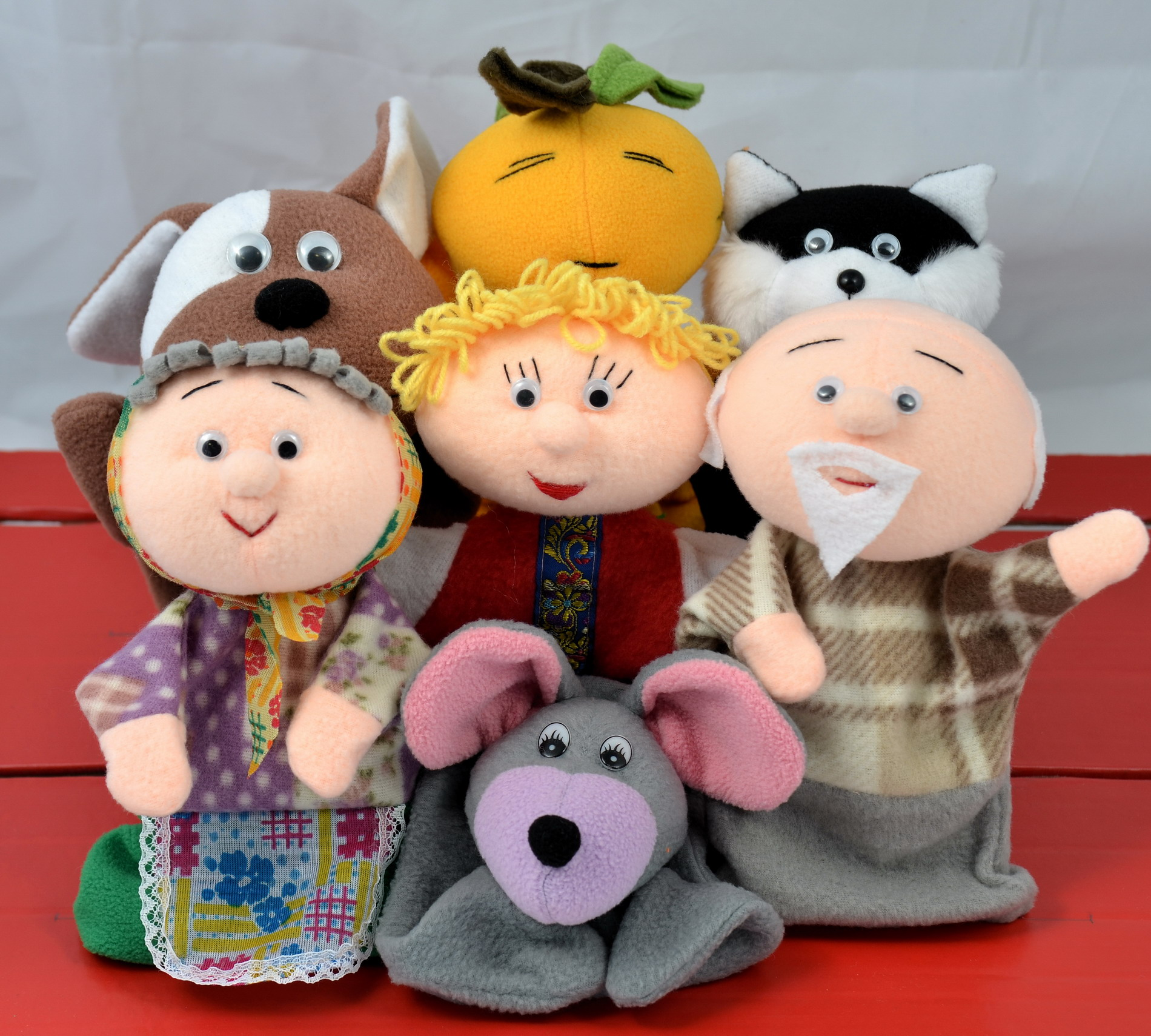 Перчаточный кукольный театр своими руками
