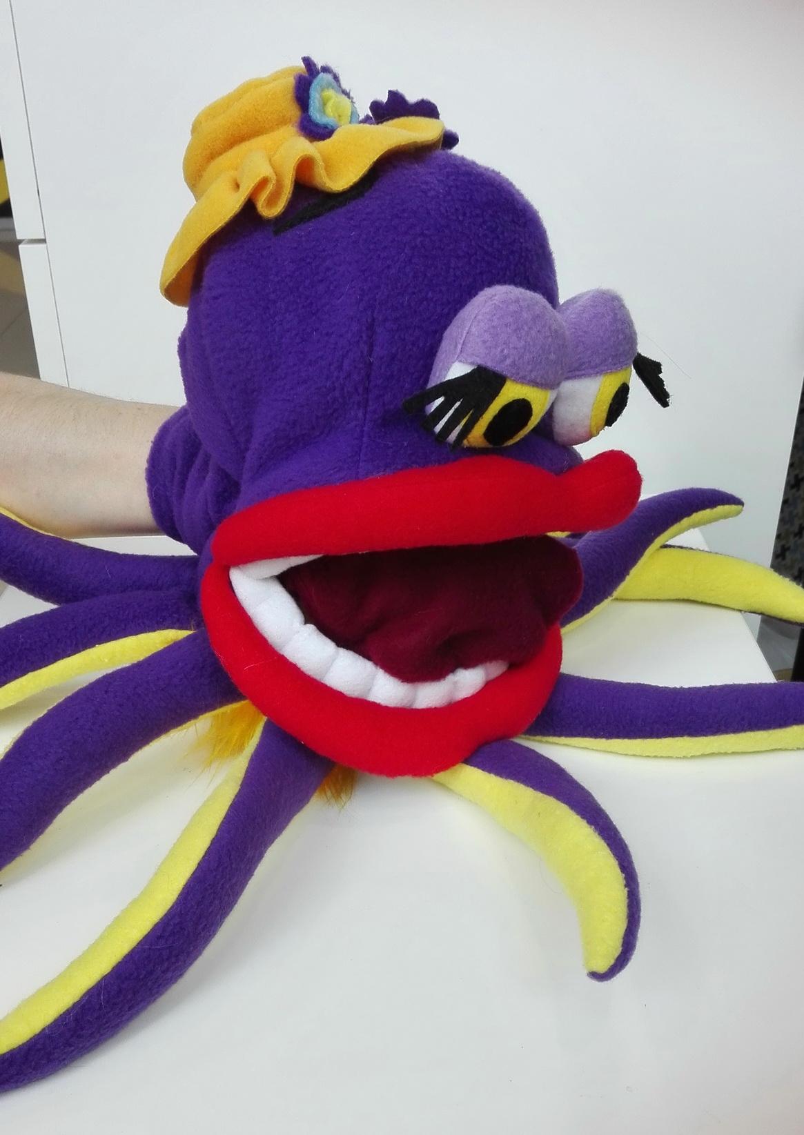 логопедическая игрушка осьминог