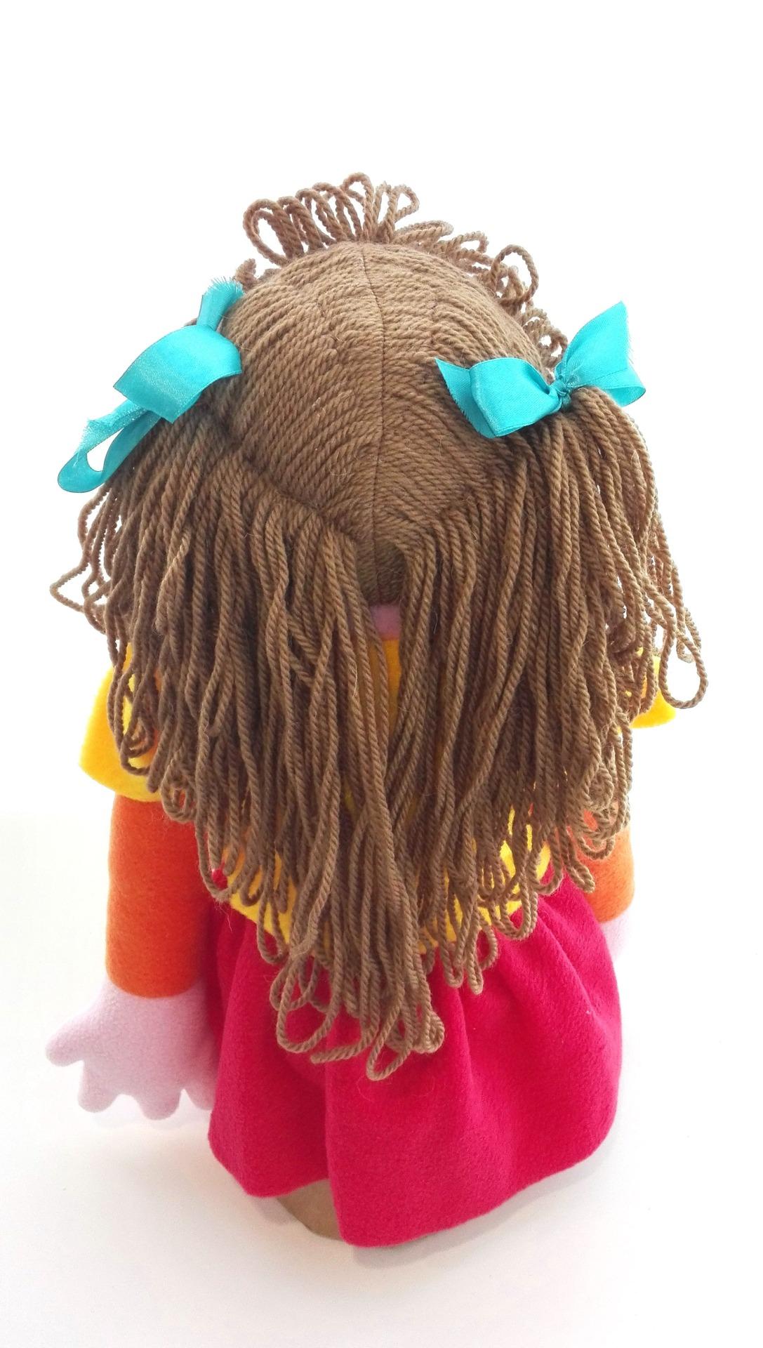 Кукла с открывающимся ртом Девочка