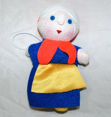 Шагающая бабушка кукла ходилка