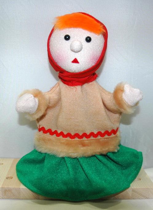 Марфуша кукла-перчатка