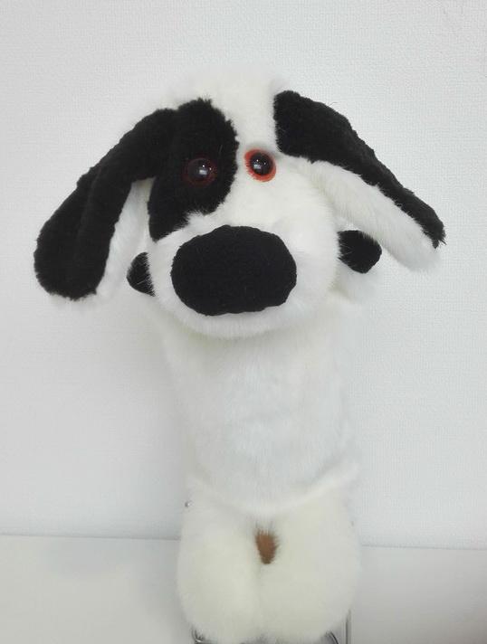 собака пушистик кукла-перчатка