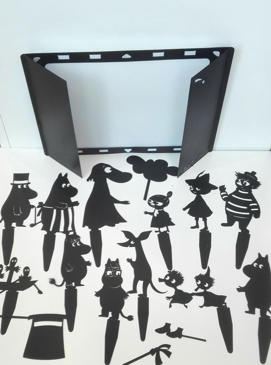 Мумми-троль - набор для театра теней