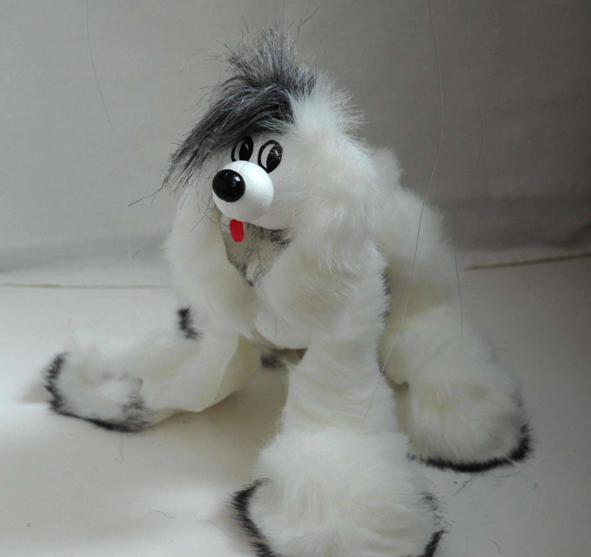 Марионетка собачка
