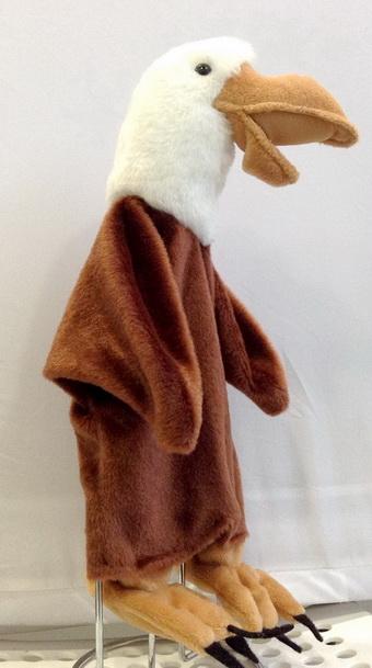 Орел кукла-перчатка