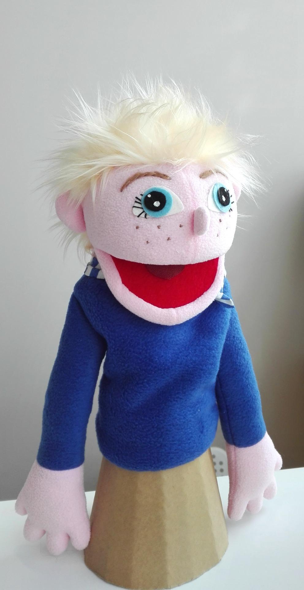 Кукла театральная мальчик
