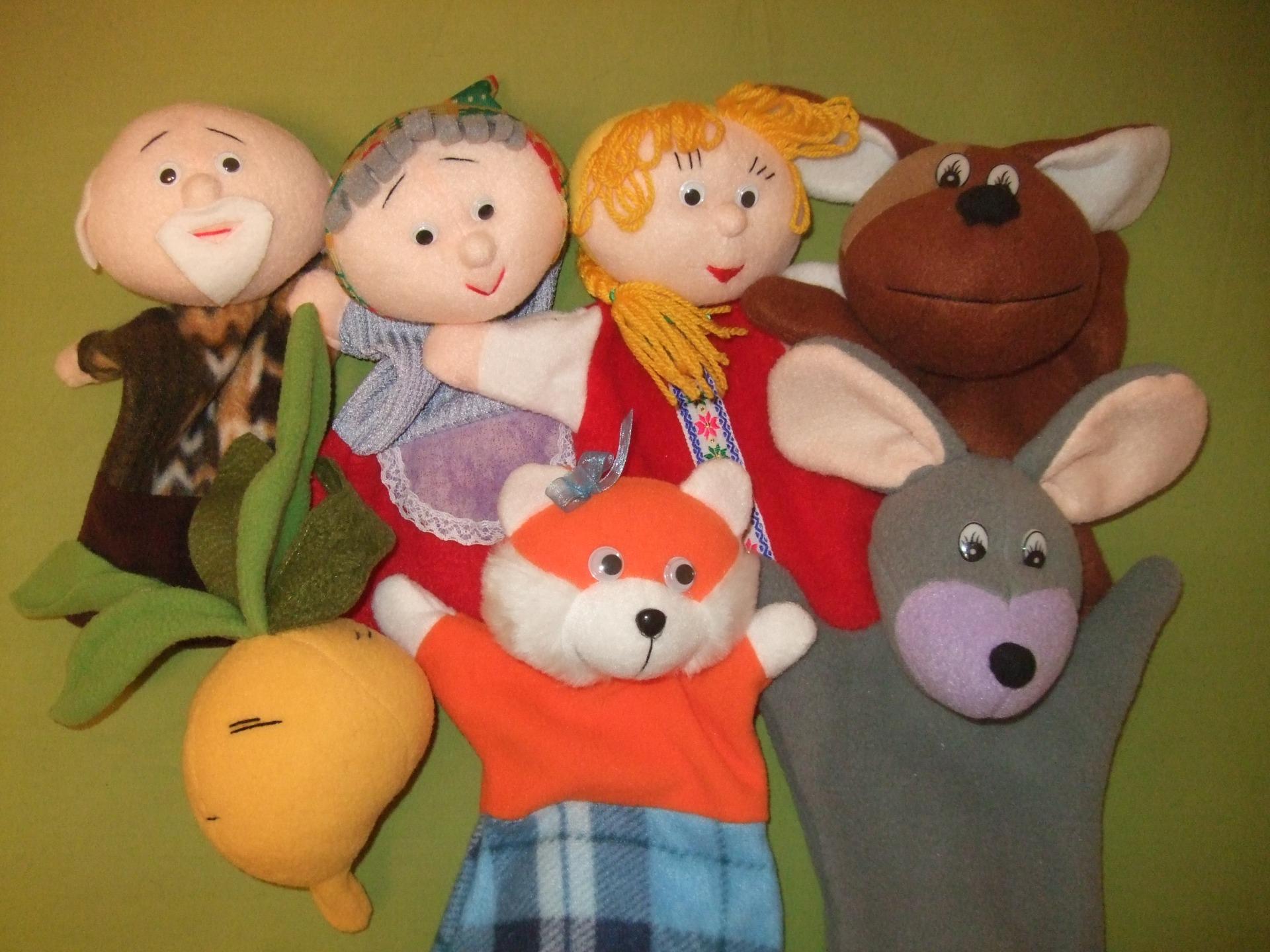 Настольный кукольный театр своими руками: выкройки и описание 67