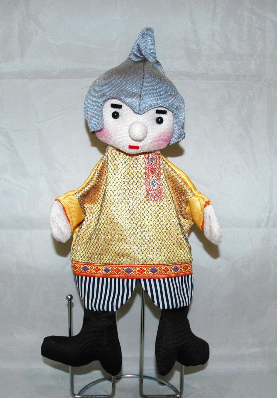 Богатырь кукла-перчатка