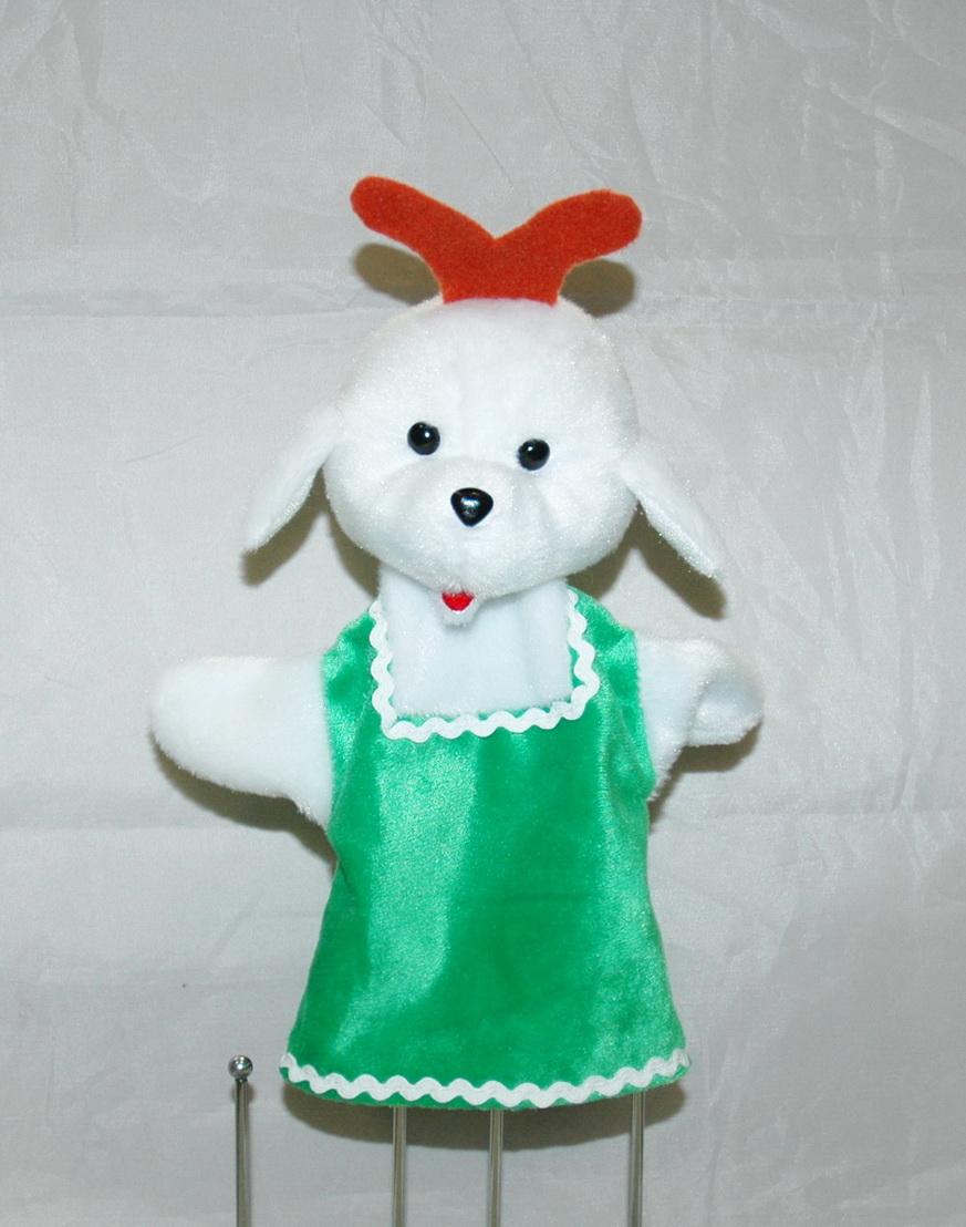 Коза кукла-перчатка