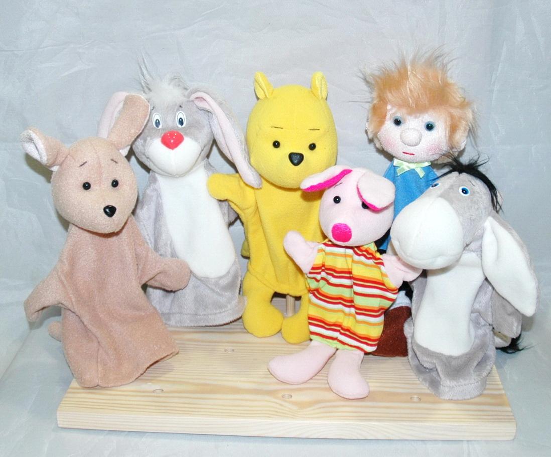 Винни-пух набор кукол для кукольного театра