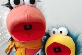 3. Маппеты, куклы с открывающимися ртами