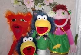 3. Маппеты, куклы-перчатки (варежки) с открывающимися ртами