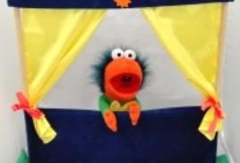 4. Ширмы, декорации и подставки, Упаковка для кукольного театра