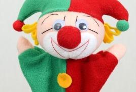 1. Единичные куклы-перчатки (би-ба-бо)